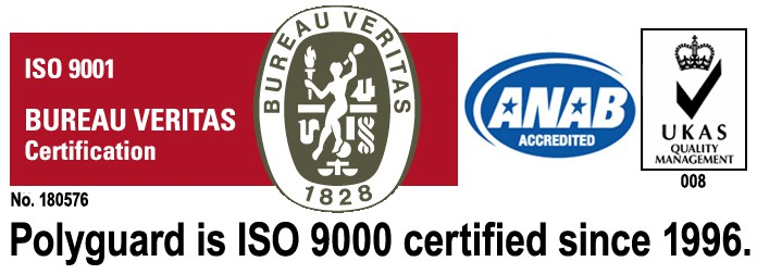 ISO 9000 Certification| Polyguard Products Building Materials