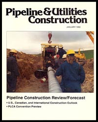 1992 Pipeline Utilities Construction Magazine Cover
