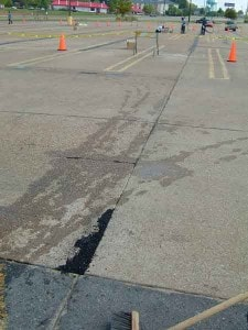 NW-75 used prior to asphalt overlay on patch crack repair