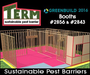Sustainable Pest Barriers