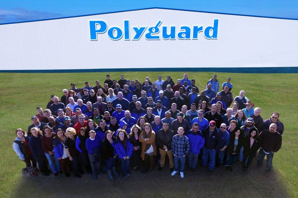2017 Polyguard Employees Group Photo