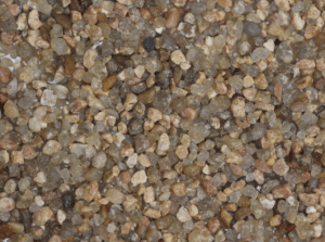 TERM angular stone particles