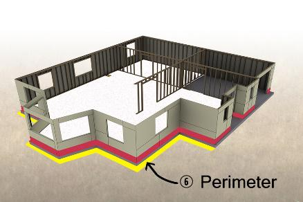 TERM Particle Barrier perimeter protection