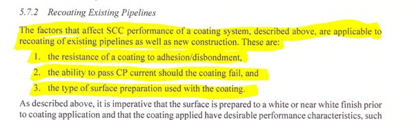 excerpt - Stress Cossosion Cracking Study