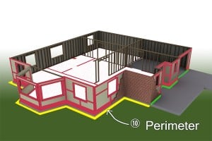 Apply Particle Barrier to Exterior Perimeter